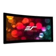 Elite Screens Lunette Series Matte White Fixed Frame Projection Screen; 196'' Diagonal