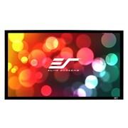 Elite Screens Sable Frame Grey Fixed Frame Projection Screen; 110'' Diagonal
