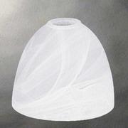 Volume Lighting 6.5'' Alabaster Glass Bowl Pendant Shade