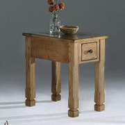 Progressive Furniture Rustic Ridge Chairside Table