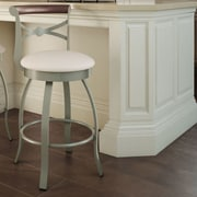Amisco Library Luxe Style 25.75'' Swivel Bar Stool