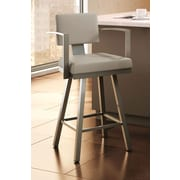 Amisco Urban Style 30.25'' Swivel Bar Stool with Cushion
