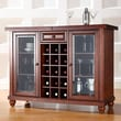 Crosley Cambridge Wine Bar; Vintage Mahogany