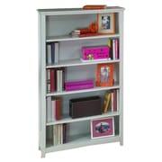 NE Kids School House Tall Vertical Bookcase; White
