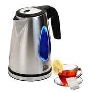Elite by Maxi-Matic Platinum 1.8 Qt. Stainless Steel Cordless Electric Tea Kettle