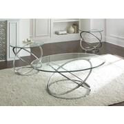 Brady Furniture Industries Riverdale 3 Piece Coffee Table Set