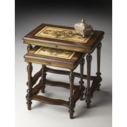Butler Heritage 2 Piece Nesting Tables