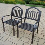 Oakland Living Rochester Arm Chair (Set of 2)