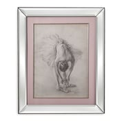 Bassett Mirror Antique Ballerina Study I Framed Painting Print