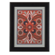 Bassett Mirror Cinnabar Suzani II Framed Graphic Art