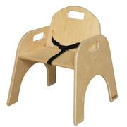 Wood Designs Wood Classroom Chair; 7''