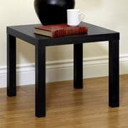 DHP Parsons End Table; Black