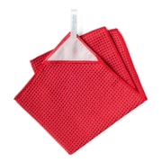 KMN Magnetic Towel Microfiber Kitchen Towel; Red