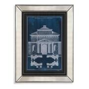 Bassett Mirror Palace Facade Blueprint II Framed Graphic Art