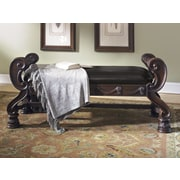 Wildon Home   North Shore Upholstered Bedroom Bench