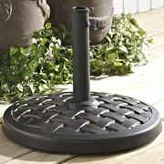 Home Loft Concepts Free Standing Umbrella Base; Antique Bronze