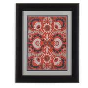 Bassett Mirror Cinnabar Suzani I Framed Graphic Art