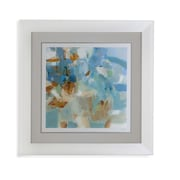 Bassett Mirror Sparkle Beach Framed Painting Print