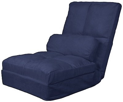 Epic Furnishings LLC Cosmopolitan Click Clack Futon Chair; Dark Blue