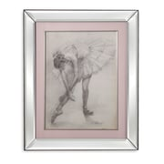Bassett Mirror Antique Ballerina Study II Framed Painting Print
