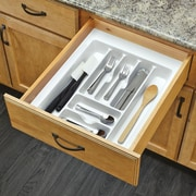 Rev-A-Shelf Large Cutlery Organizer; White