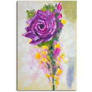 Omax Decor 'A Rose by Any Other Color' Original Painting on Canvas