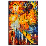 Omax Decor 'Lights Dancing' Original Painting on Canvas