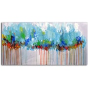Omax Decor 'Through the Forest' Original Painting on Canvas