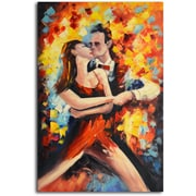 Omax Decor 'Tangoed in Love' Original Painting on Canvas