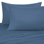 TwinXL.com Jersey 100pct Cotton Sheet Sets; Coronet Blue