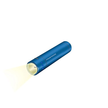 Powerocks Flashlight Magicstick 3000 mAh Portable Power Bank, Blue