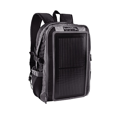 EnerPlex Universal Packr Base Solar Powered Backpack, Grey/Black