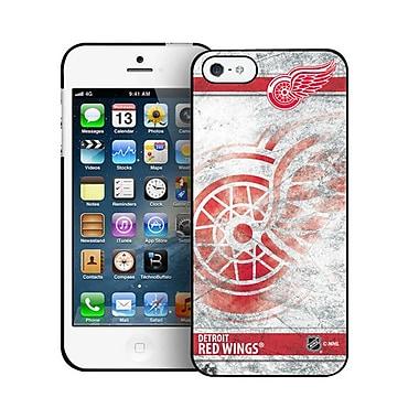 LNH – Étui Red Wings de Detroit, givré, pour iPhone 5/5s, édition limitée