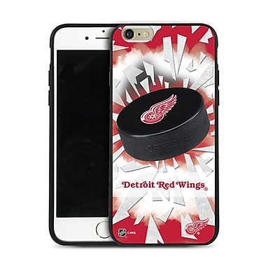 NHL Detroit Red Wings Puck Shatter Cover Limited Edition, iPhone 6 Plus