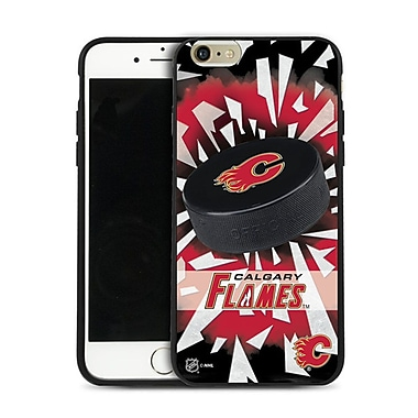 NHL iPhone 6 Plus Calgary Flames Puck Shatter Cover Limited Edition