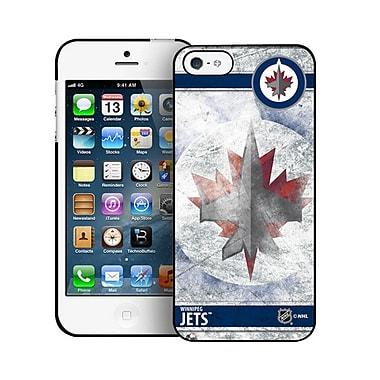 LNH – Étui Jets de Winnipeg, givré, pour iPhone 5/5S, édition limitée