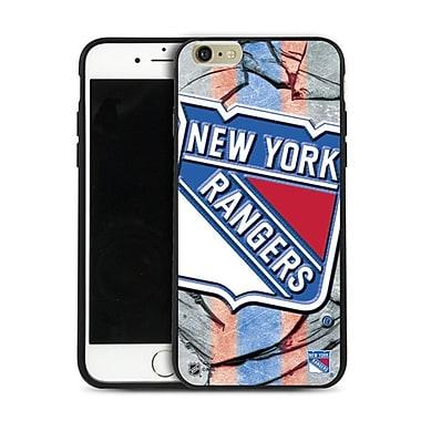 LNH – Étui Rangers de New York, grand logo, pour iPhone 6 Plus, édition limitée