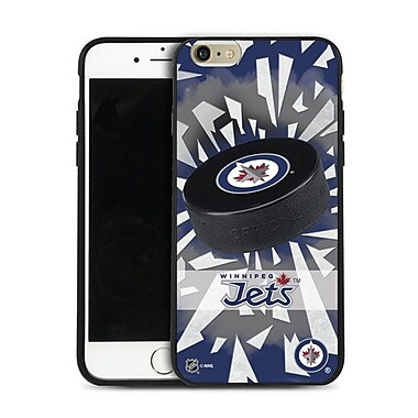NHL iPhone 6 Plus Winnipeg Jets Puck Shatter Cover Limited Edition