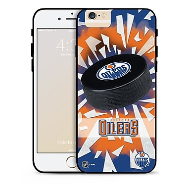 NHL iPhone 6 Edmonton Oilers Puck Shatter Cover Limited Edition