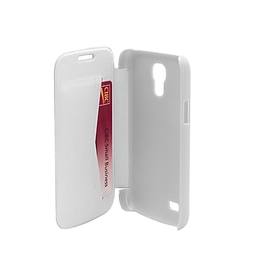 Muvit Samsung Galaxy S4 Mini Easy Folio Case, White