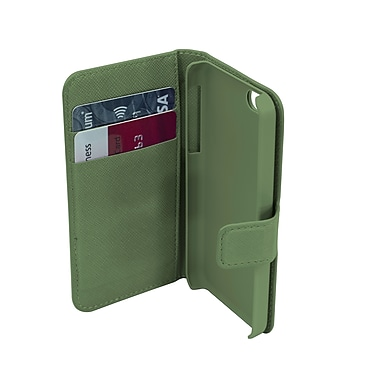 Muvit iPhone 5/5S Slim Case with Multiple Cardslots, Green