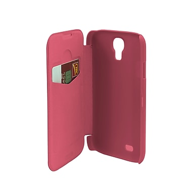 Muvit Samsung Galaxy S4 Easy Folio Case, Pink