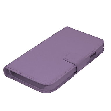 Muvit Samsung Galaxy S4 Slim Case with Multiple Cardslots, Purple