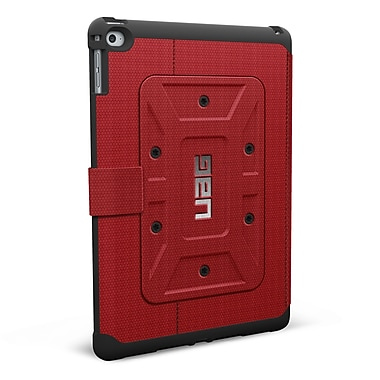 UAG iPad Air 2 6th Gen Rogue Folio Case, Red/Black