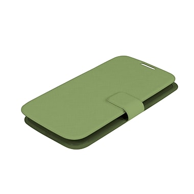 Muvit Samsung Galaxy S4 Ultrathin Book Style Case, Green