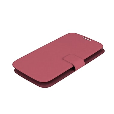 Muvit Samsung Galaxy S4 Ultrathin Book Style Case, Pink