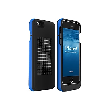 EnerPlex iPhone 6/6s Surfr Solar Battery Case, Black/Blue