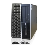 Refurbished HP Elite 8000 C2D 3.06 GHz 4GB DDR3 1TB HDD DVD W7Pro 64 SFF