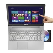 "Asus N550JX-DS74T 15.6"" Notebook 240GB, 16GB, Intel Core i7-4720HQ 2.6GHz (Turbo up to 3.6GHz) Haswell, Windows 8.1 (64bit)"