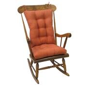 Klear Vu Twillo Rocking Chair Cushion; Clay